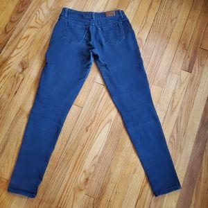 Express Women's Midrise Dark Skinny Jeans, 6R